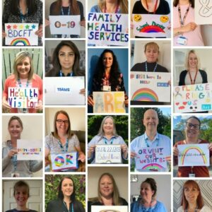 Our 0-19 Family Health Services team are still here to help