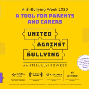 Anti-Bullying Week Pack for Parents
